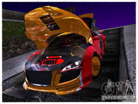 Audi R8 Calibri-Ace для GTA San Andreas вид справа