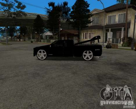 Chevrolet Silverado 1996 Lowrider для GTA San Andreas вид сзади