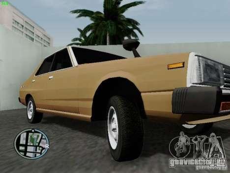Nissan Skyline 2000GT C210 для GTA San Andreas вид изнутри