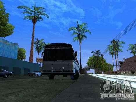 Prison Bus для GTA San Andreas вид сзади слева