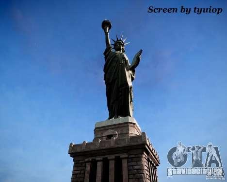 New Statue of Liberty для GTA 4