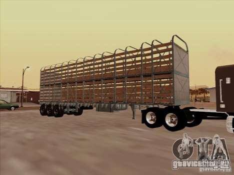 Прицеп к Mack RoadTrain для GTA San Andreas вид сзади