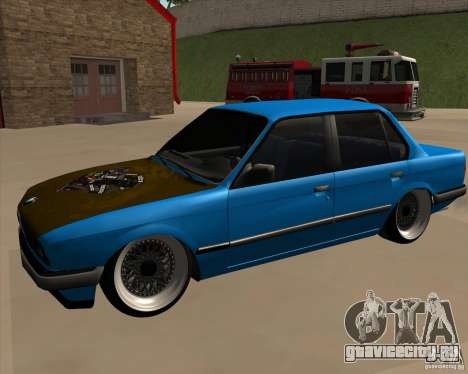 BMW E30 325e Duscchen для GTA San Andreas вид справа