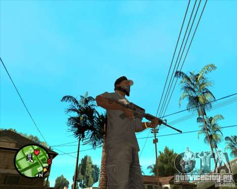 M4 Carbine для GTA San Andreas второй скриншот