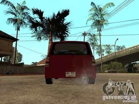 Toyota BB для GTA San Andreas вид сзади слева