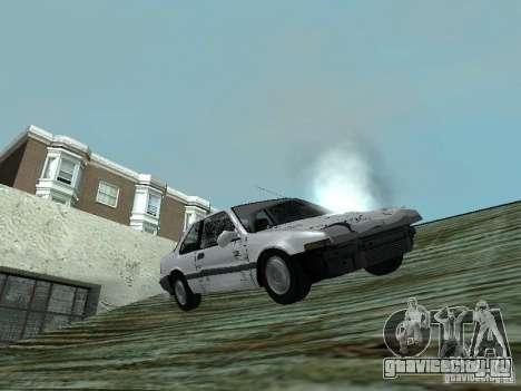 Honda Accord для GTA San Andreas вид сзади