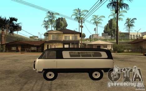УАЗ-450 «Сорока» для GTA San Andreas вид слева