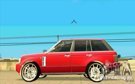 NFS:MW Wheel Pack для GTA San Andreas двенадцатый скриншот