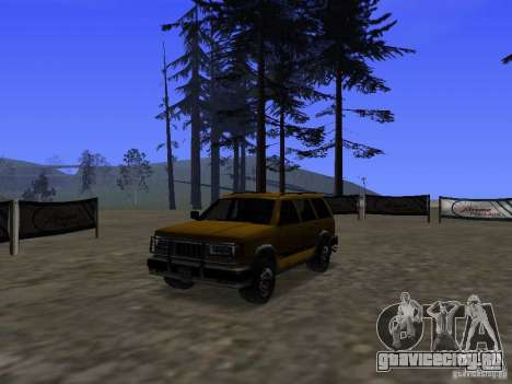 Mountainstalker S для GTA San Andreas вид изнутри