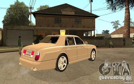 Bentley Arnage для GTA San Andreas вид справа