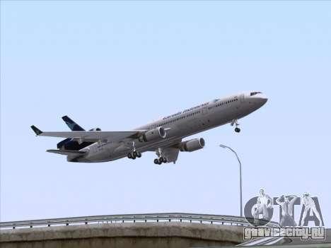 McDonnell Douglas MD-11 Garuda Indonesia для GTA San Andreas колёса
