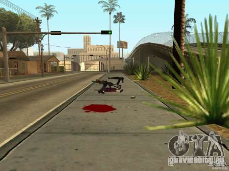 Отечественное оружие - версия 1.5 для GTA San Andreas седьмой скриншот