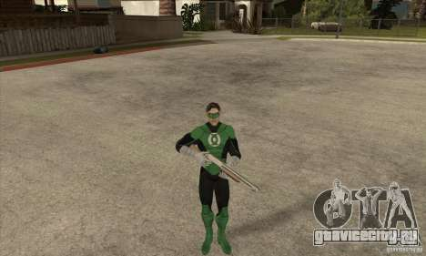 Green Lantern для GTA San Andreas четвёртый скриншот