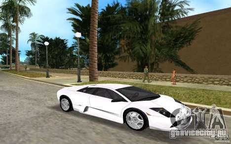 Lamborghini Murcielago V12 6,2L для GTA Vice City вид слева
