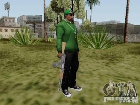 AK-47 из Saints Row 2 для GTA San Andreas пятый скриншот