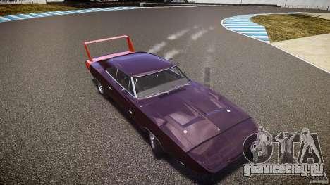 Dodge Charger Daytona 1969 [EPM] для GTA 4 двигатель
