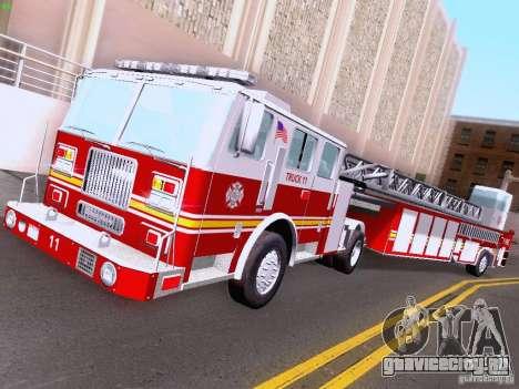 Seagrave Tiller Truck для GTA San Andreas