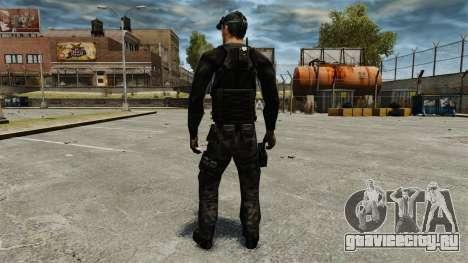 Сэм Фишер v2 для GTA 4 третий скриншот