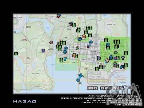 Зимняя трасса для GTA San Andreas десятый скриншот