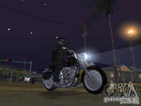 Terminator для GTA San Andreas пятый скриншот