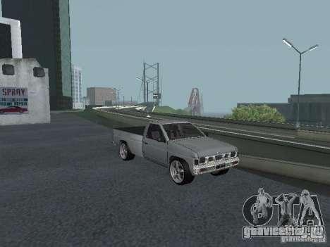 Nissan Pick-up D21 для GTA San Andreas вид сверху
