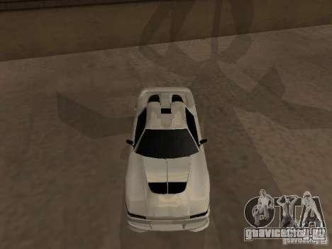 Infernus GT для GTA San Andreas вид слева