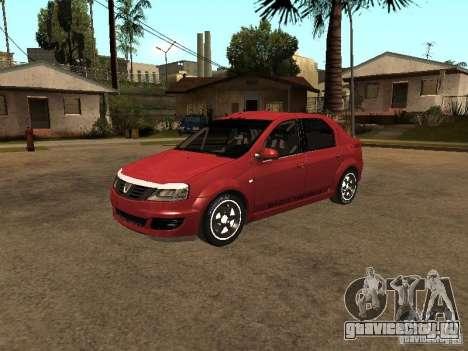 Dacia Logan Rally Dirt для GTA San Andreas