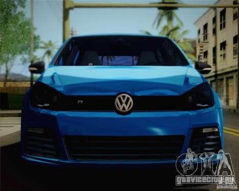 Volkswagen Golf R 2010 для GTA San Andreas вид справа