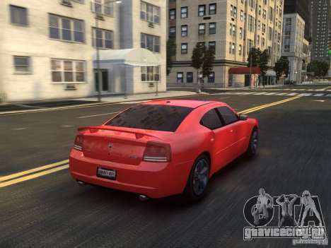 Dodge Charger SRT8 2006 для GTA 4 вид сверху