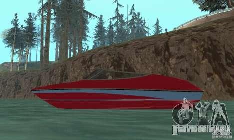 Speedboat для GTA San Andreas вид справа