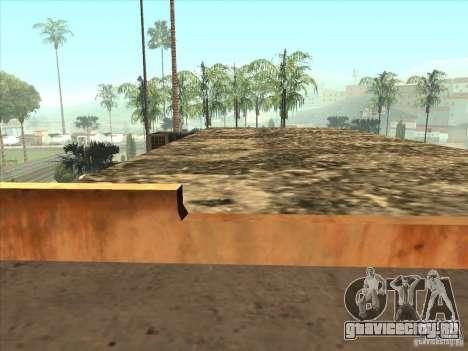 Карта для паркура и площадка bmx для GTA San Andreas восьмой скриншот