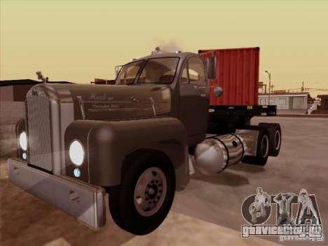 Mack B 61 для GTA San Andreas