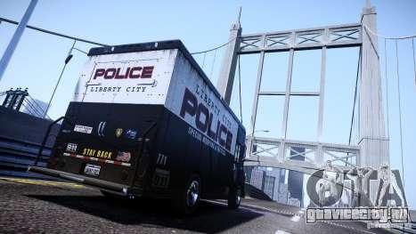 Boxville Police для GTA 4 вид слева