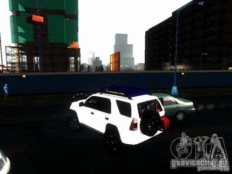 Toyota 4Runner 4X4 для GTA San Andreas вид слева