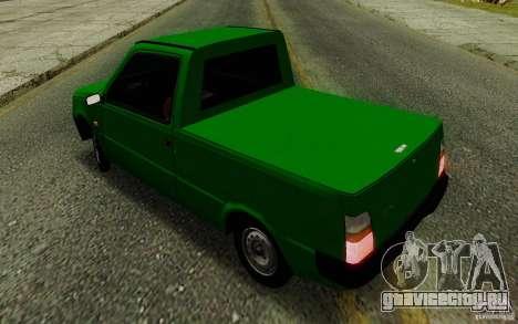СЕАЗ Ока Пикап для GTA San Andreas вид изнутри