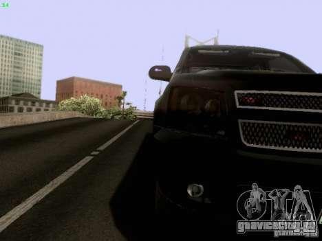 Chevrolet Tahoe 2009 Unmarked для GTA San Andreas вид сбоку