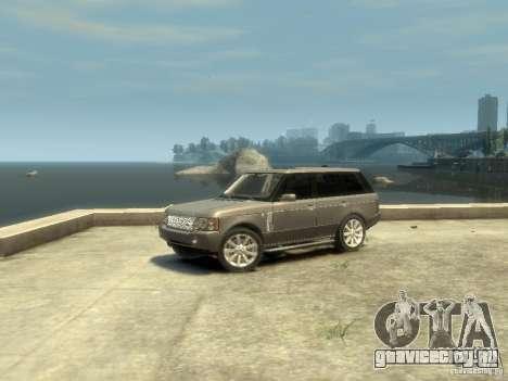 Range Rover Supercharged 2008 для GTA 4 вид слева