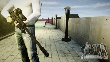 Barrett 98B (снайперка) для GTA 4 третий скриншот