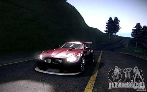 BMW Z4 E89 GT3 2010 для GTA San Andreas вид слева