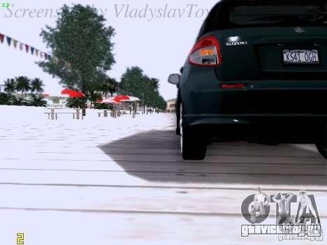 Suzuki SX4 Sportback 2011 для GTA San Andreas вид сбоку