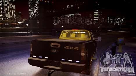 Ford F-350 Unmarked [ELS] для GTA 4 вид сбоку
