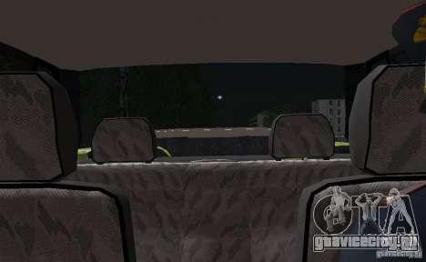ВАЗ 2115 Полиция ДПС для GTA San Andreas вид сверху