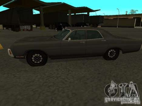 Dodge Polara 1971 для GTA San Andreas вид справа