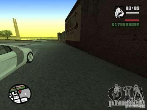 Вид от первого лица (First-Person mod) для GTA San Andreas третий скриншот