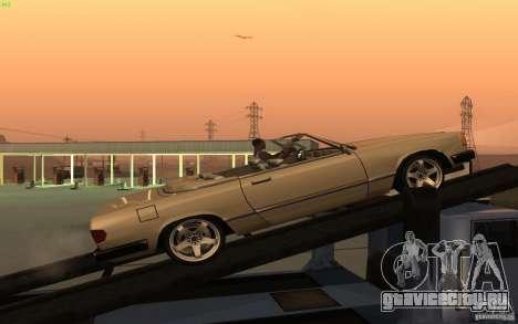 New Feltzer для GTA San Andreas вид слева