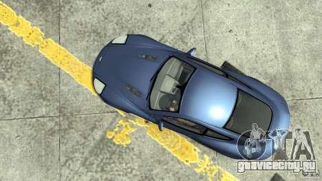Aston Martin Vanquish S для GTA 4 вид справа