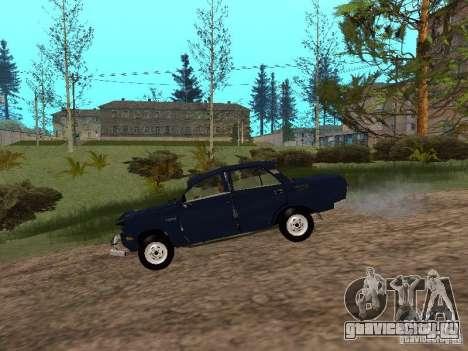 Москвич Побитый для GTA San Andreas вид сзади слева