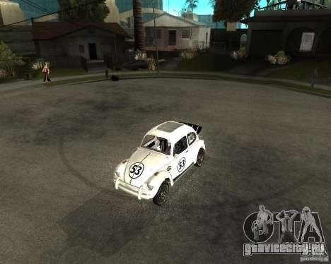 Volkswagen Beetle Herby для GTA San Andreas