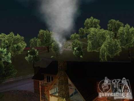 Камин в доме Торено для GTA San Andreas третий скриншот