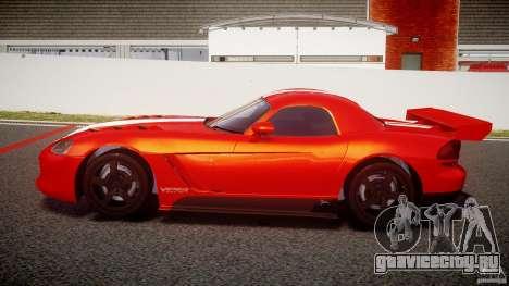 Dodge Viper RT 10 Need for Speed:Shift Tuning для GTA 4 вид слева